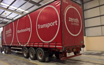 Warehouse Scanning Solution supplied to Zenith Logistics